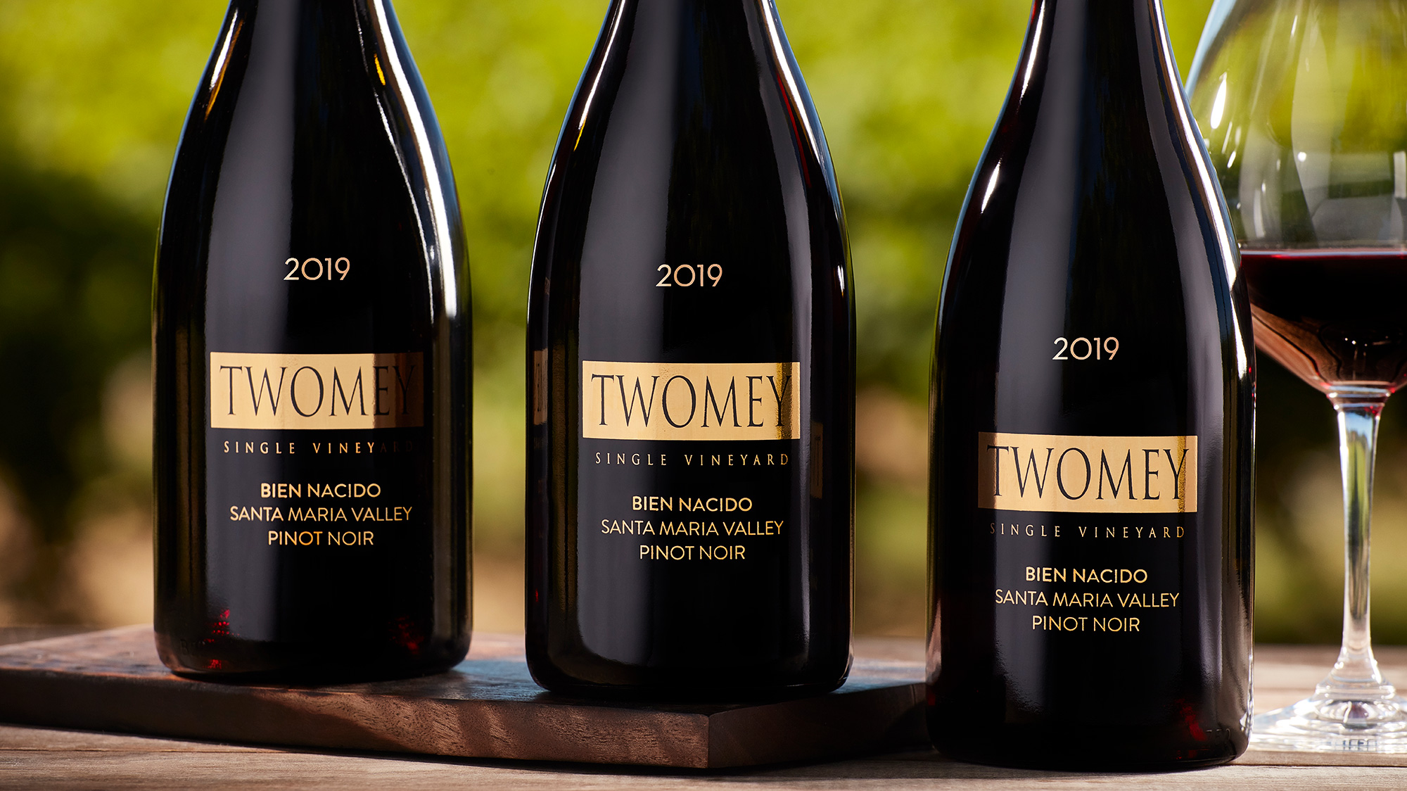 Twomey 2019 Bien Nacido Pinot Noir 3 bottle offer