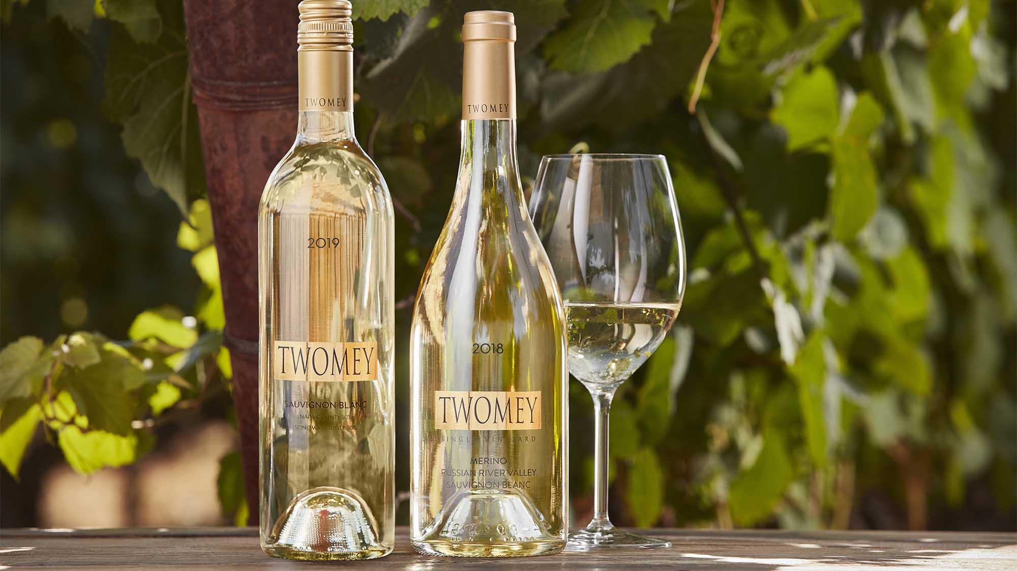 2019 Twomey Sauvignon Blanc and 2018 Merino SB