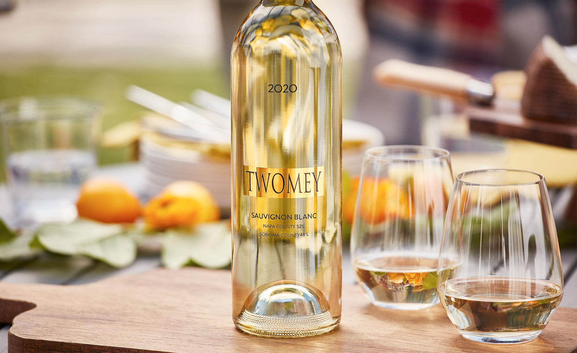 Twomey 2020 Sauvignon Blanc wine