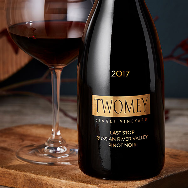 Twomey Last Stop Pinot Noir bottle