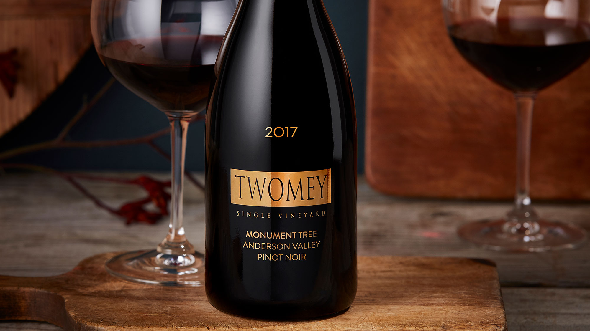 Twomey Monument Tree Pinot Noir bottle