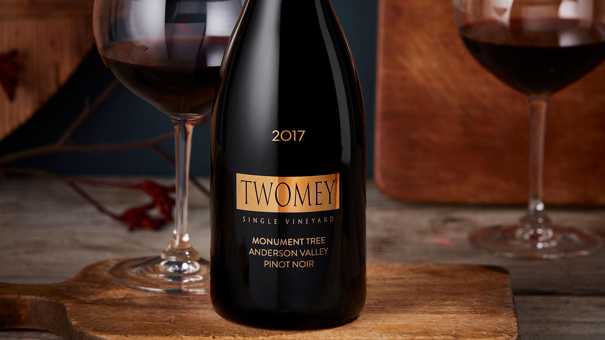 Twomey Monument Tree Pinot Noir bottle
