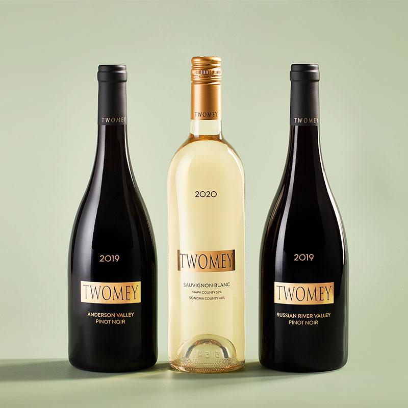 Twomey Pinot Noir and Sauvignon Blanc wines