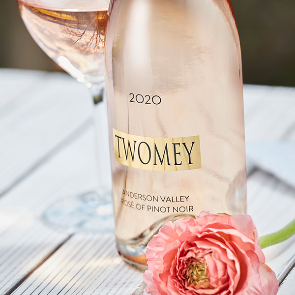 Twomey Rose of Pinot Noir wines