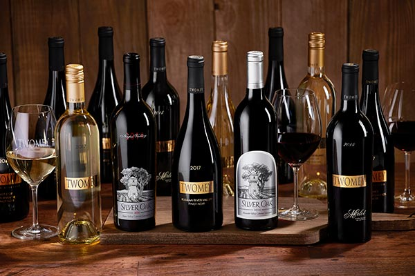 Silver Oak and Twomey wines