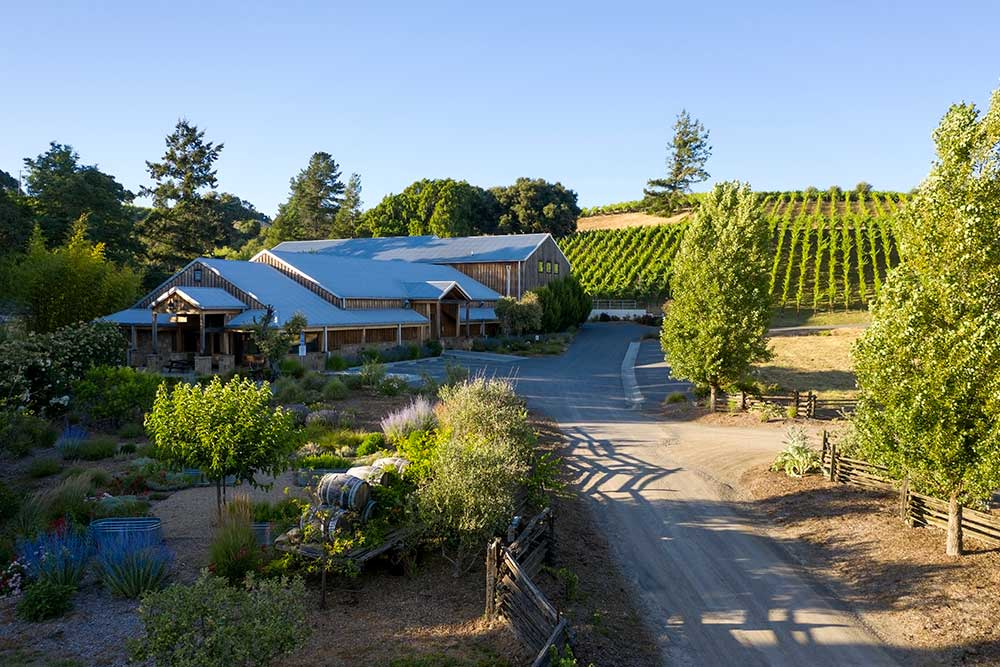Twomey tasting room in Anderson Valley
