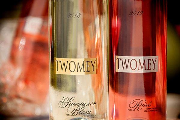 Twomey Sauvignon Blanc and Rosé